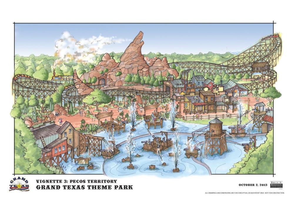 Grand Texas plans November 2013 Pecos Territory