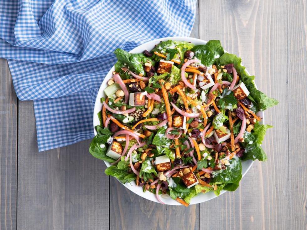 Mendocino Farms Santorini salad