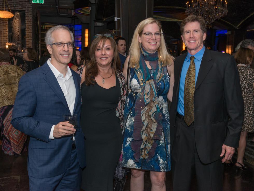 WITS Gala 2018: Daniel Kornberg, Lynda Chadbourne, MaryScott Hagle, Scott Chadbourne