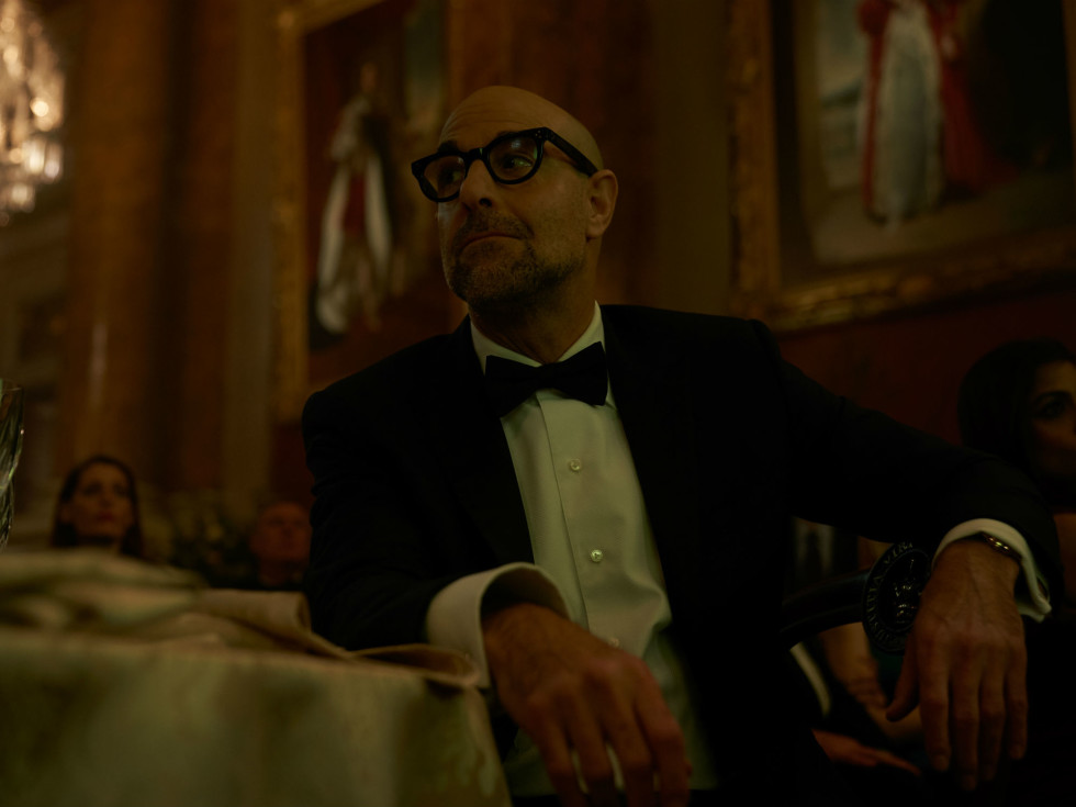 Stanley Tucci in A Private War