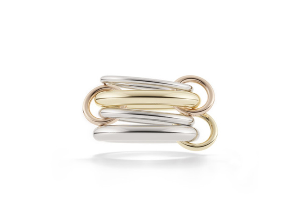 Longoria: Spinelli Kilcollin Cici Ring 18k gold and sterling