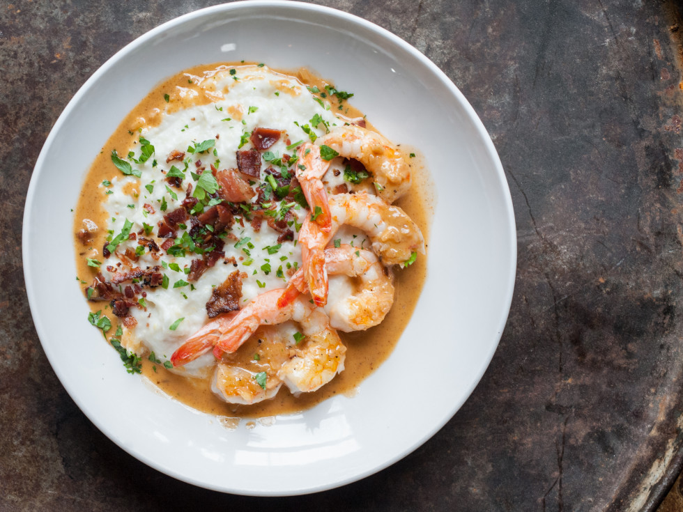 Dish Society shrimp and grits