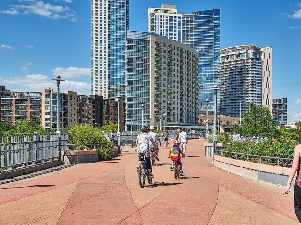 Austin skyline rail bikes cycling