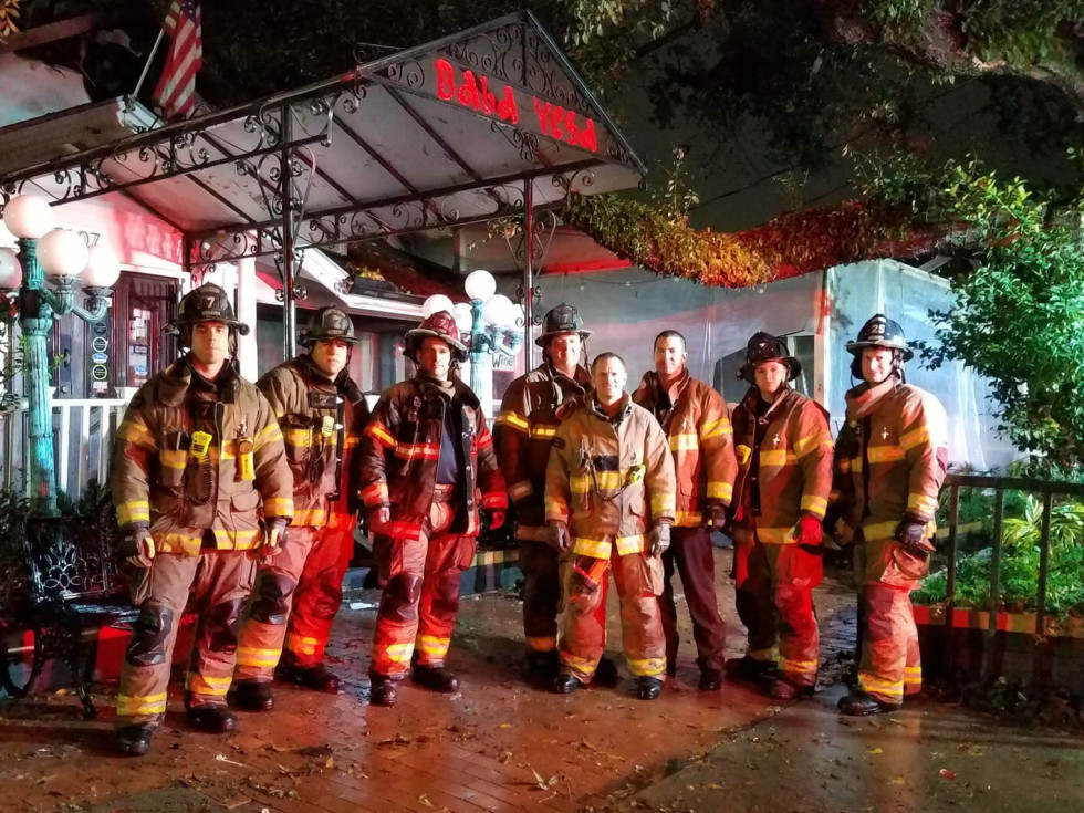 Baba Yega fire firefighters