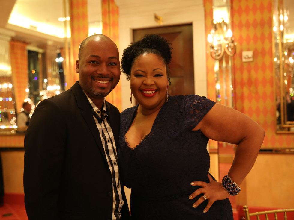 Dante Davis and soprano Karen Slack