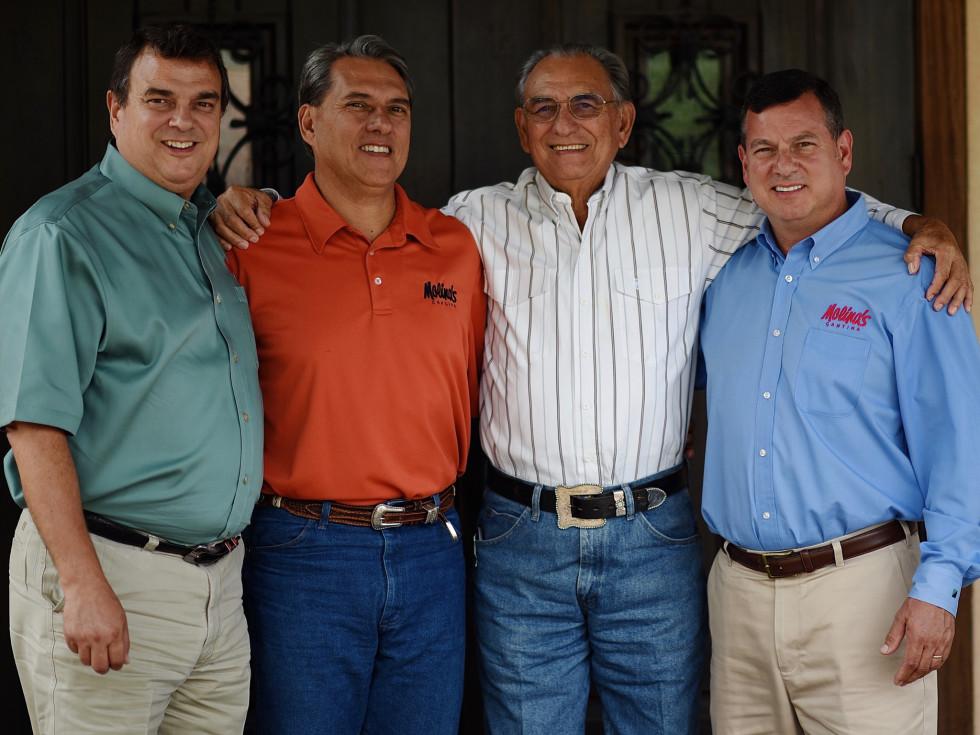 Molina family Ricardo Raul III Raul Jr Roberto