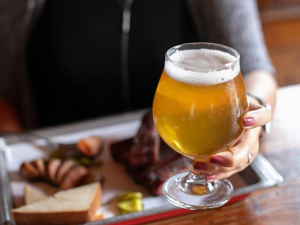 The Granary 'Cue & Brew beer