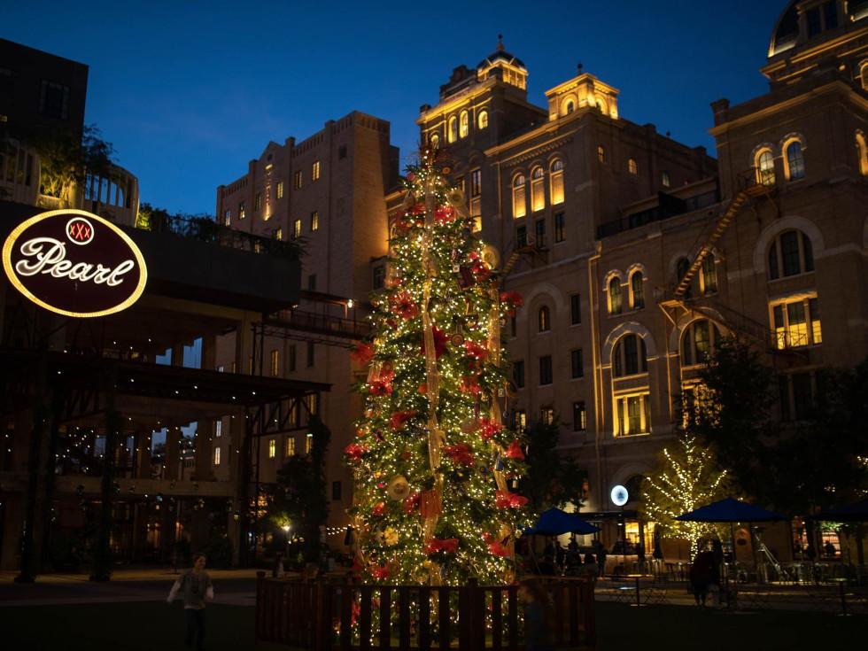 The Pearl San Antonio Christmas