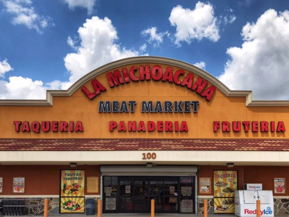 La Michoacana grocery store exterior