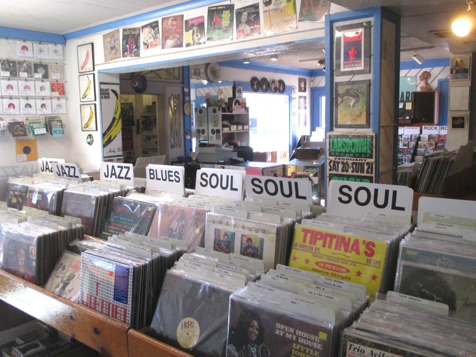 Sound Exchange interior records