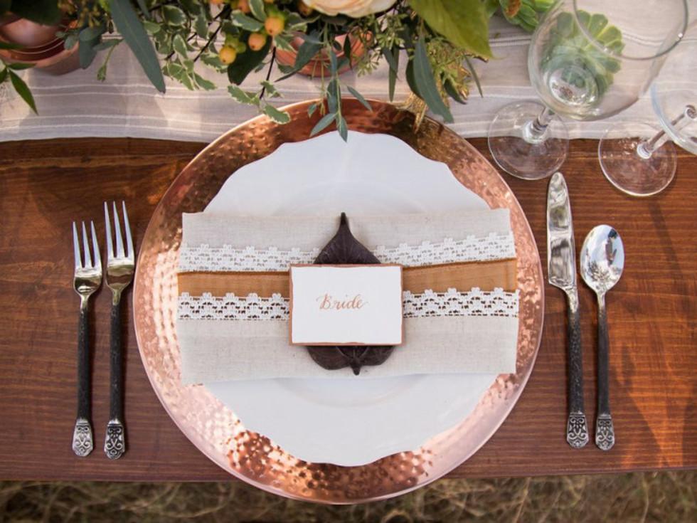 2019 wedding trends copper