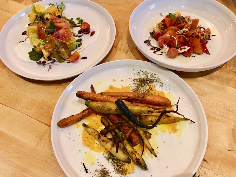 Mastrantos vegetable plates