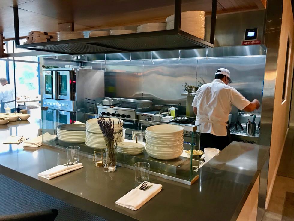 Mastrantos open kitchen