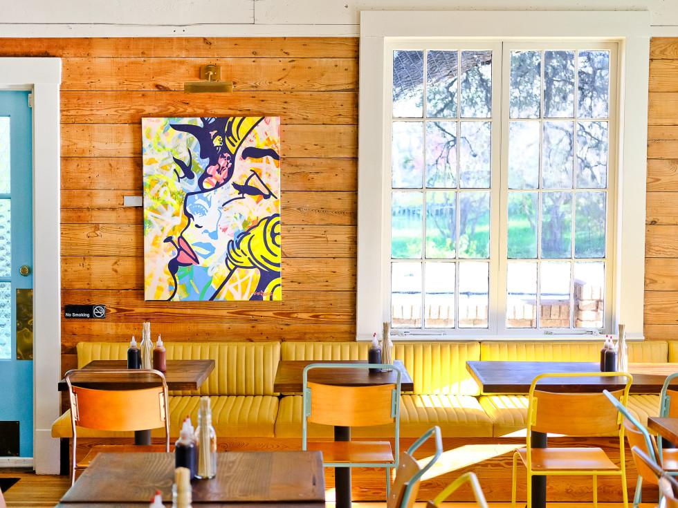 Bar Peached Austin interior