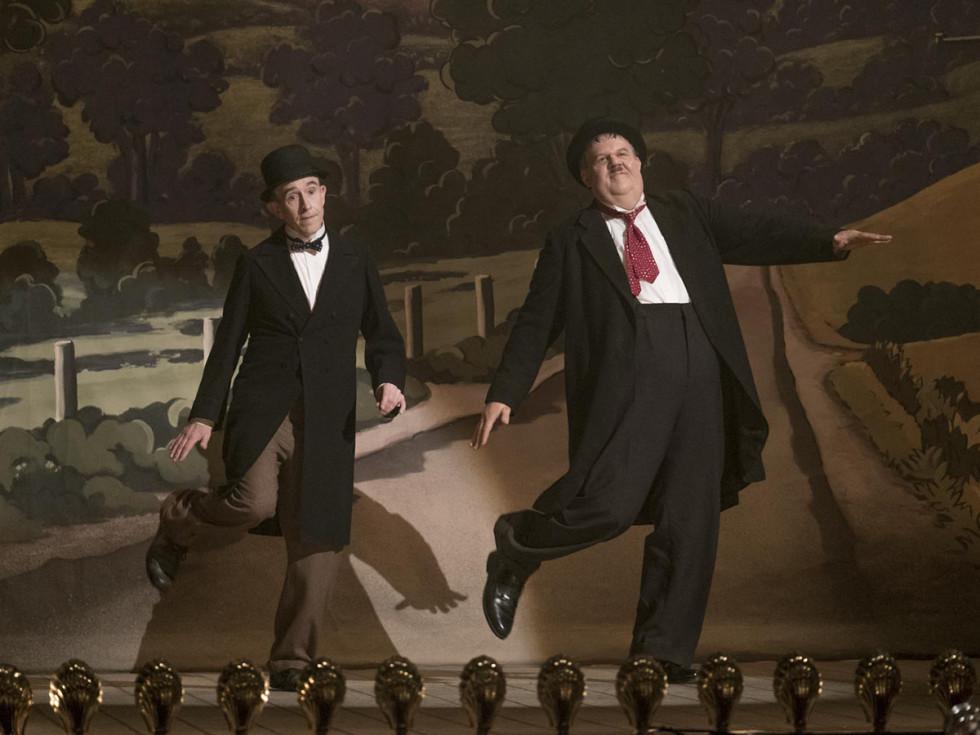 Steve Coogan and John C. Reilly in Stan & Ollie