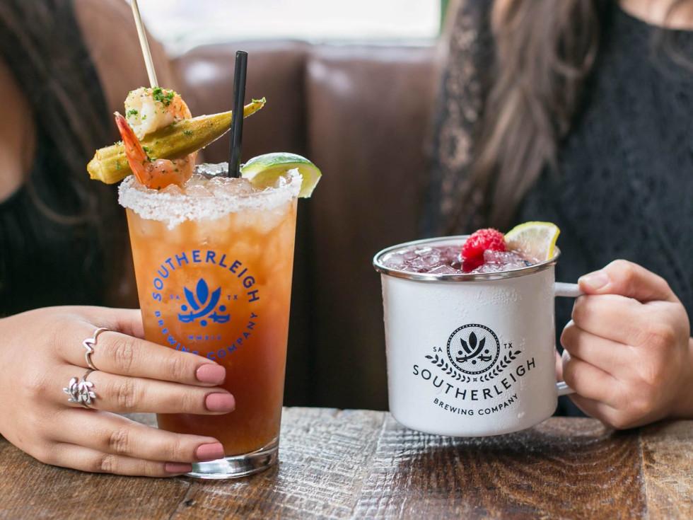Southerleigh San Antonio brunch drinks
