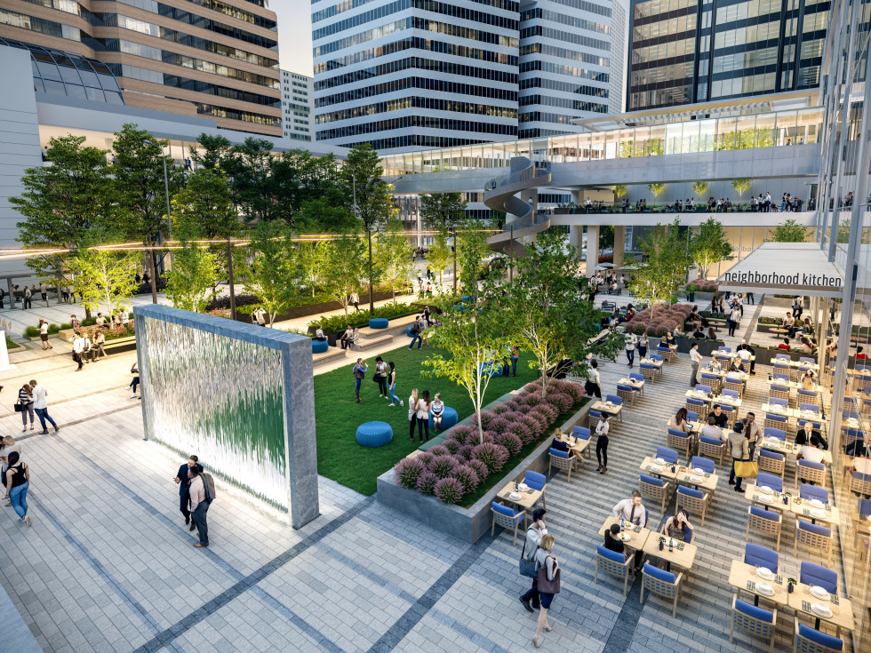 Allen Center Houston Center Central Plaza