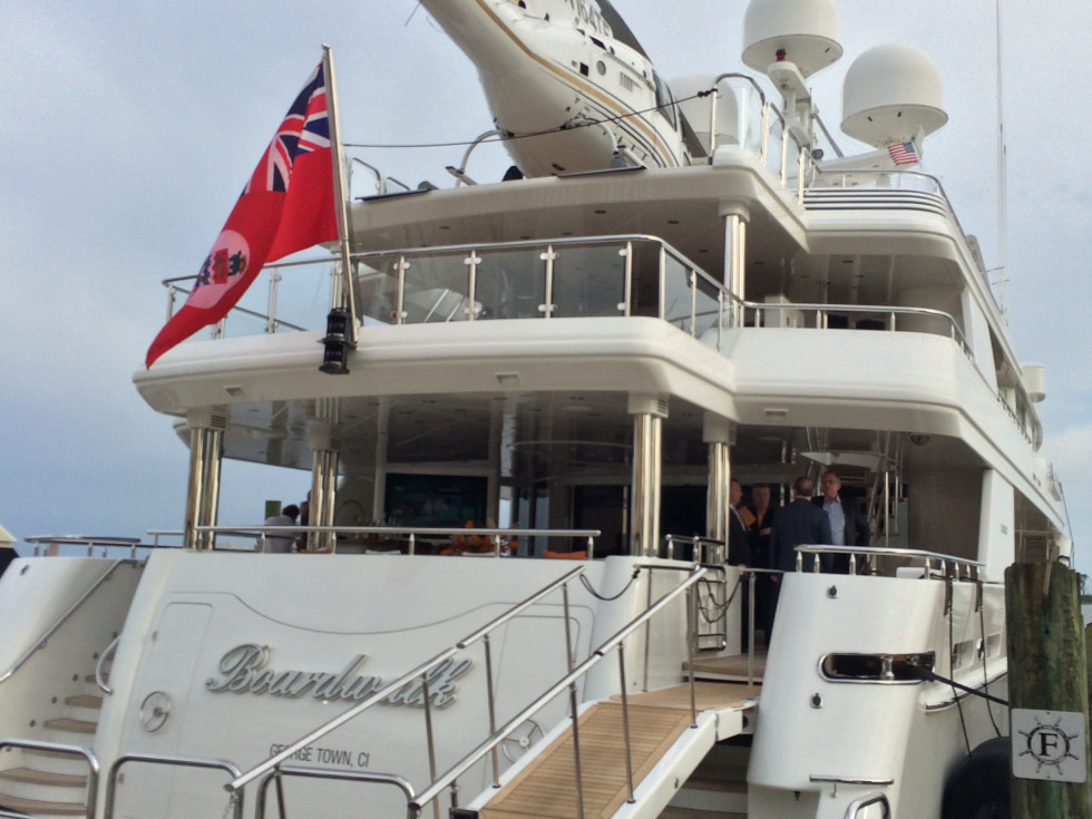 Tilman Fertitta yacht Boardwalk May 2014
