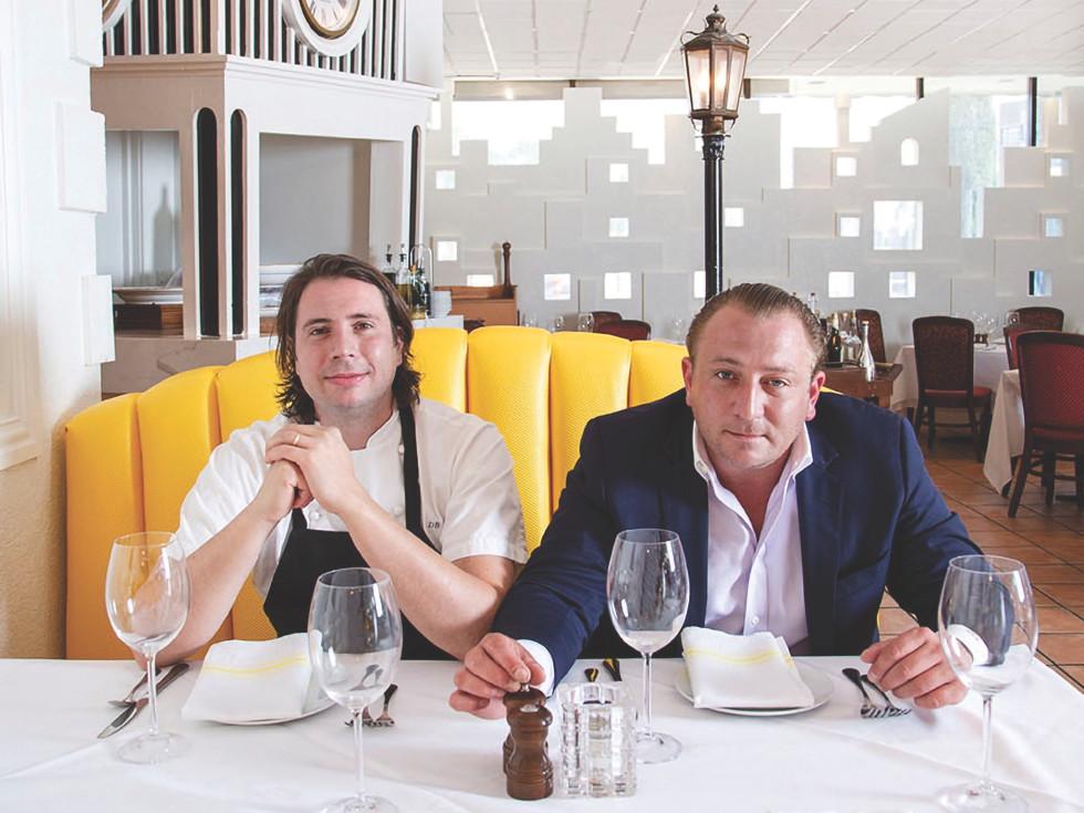 Daniel and Ben Berg, Berg Hospitality