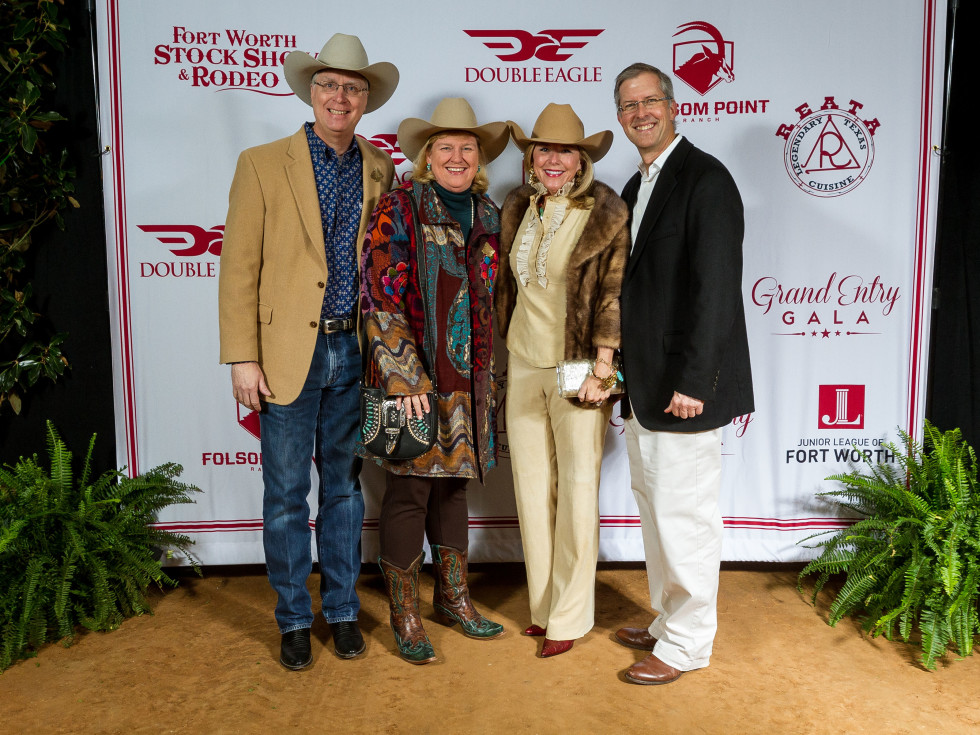 Fort Worth Stock Show Grand Entry Gala Leo Taylor, Melissa Taylor, Michelle Marlow, Scott Marlow