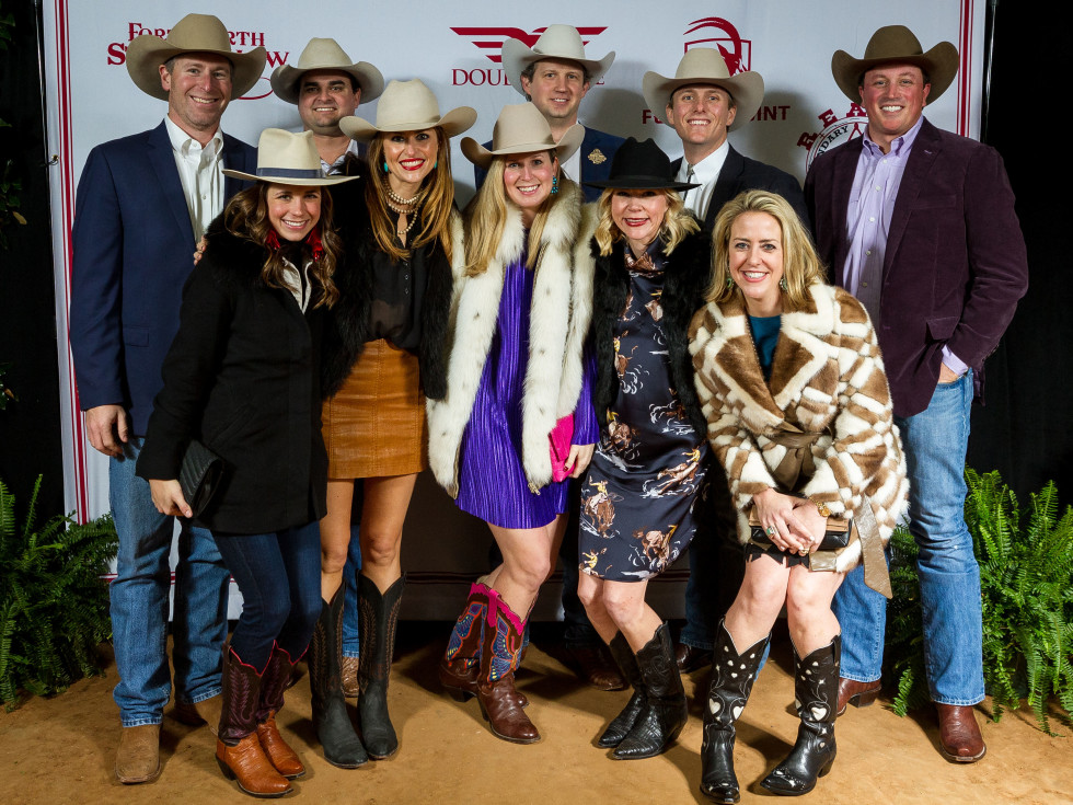 Fort Worth Stock Show Rodeo Grand Entry Gala group photo
