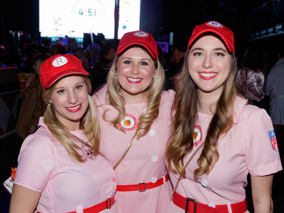 Elizabeth Curlin, Ally Wood, Samantha March
