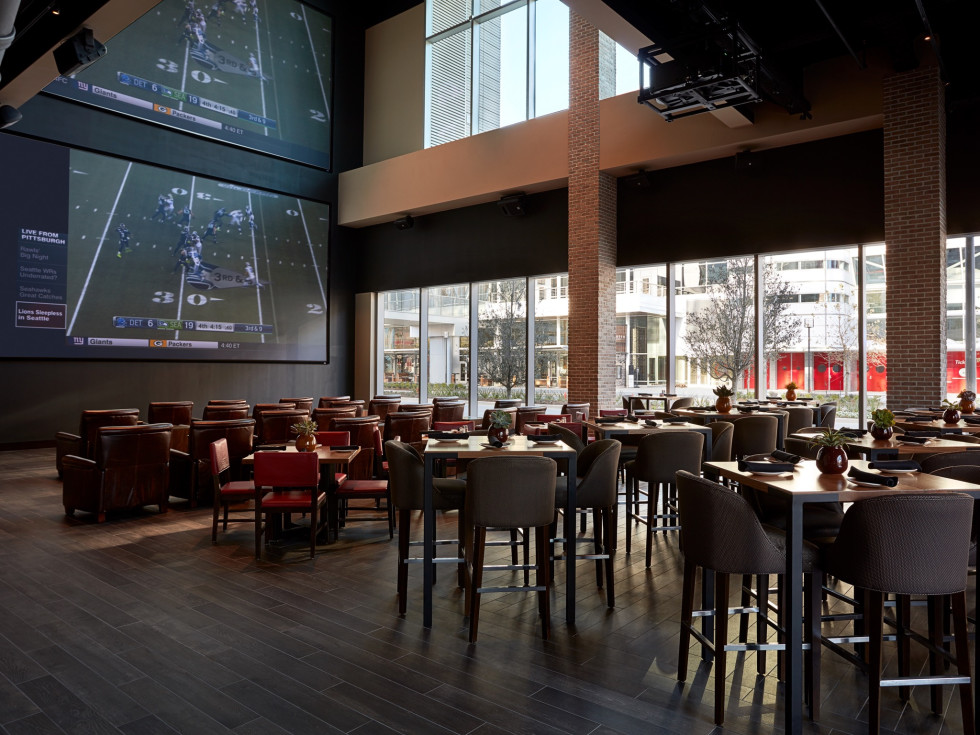 Biggio's Sports Bar Marriott Marquis interior