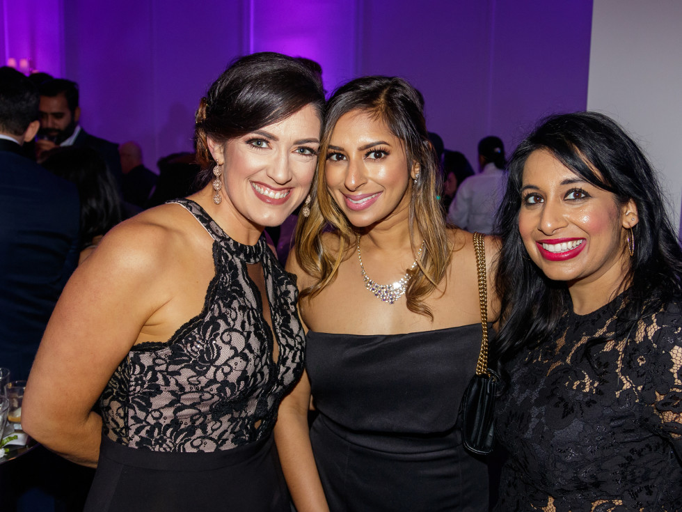 Tara Dwyer, Payal Desai, Riya Bhattacharjee