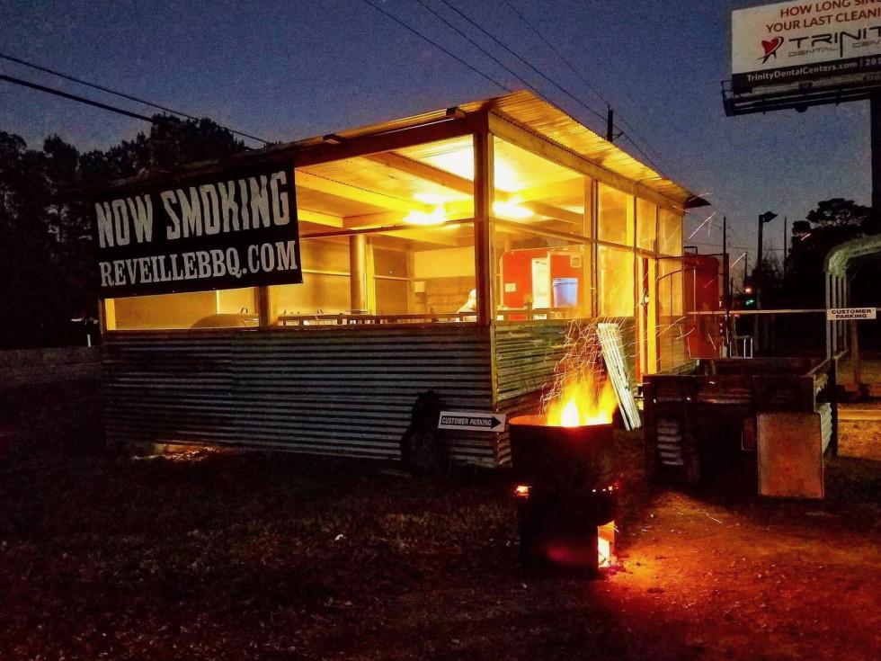 Reveille barbecue exterior