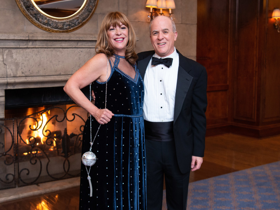 Inprint Poets & Writers Gala 2019:Franci Neely, Inprint Executive Director Rich Levy
