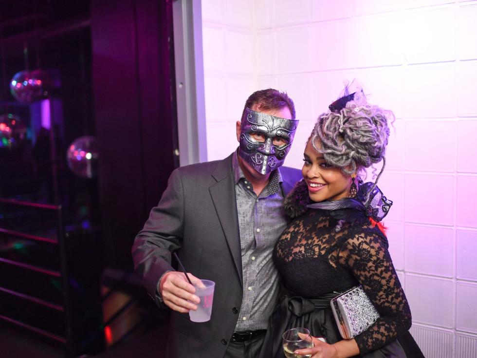 Heart of Fashion Masquerade Ball Scott Harrison, Karolyne Ashley