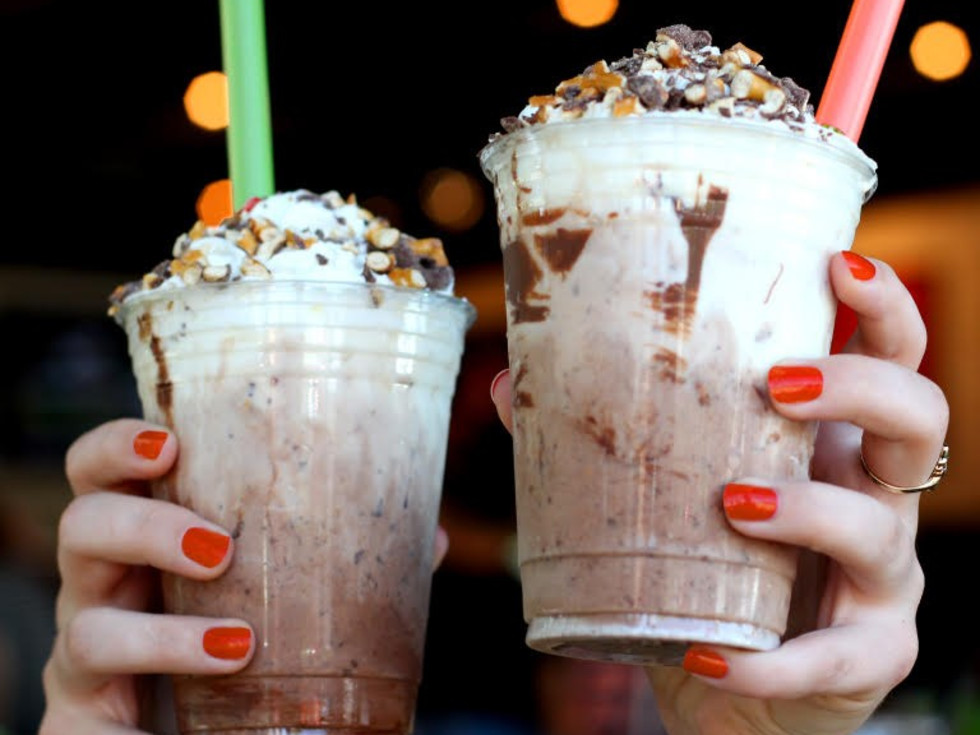 Hopdoddy Burger Bar boozy milkshakes