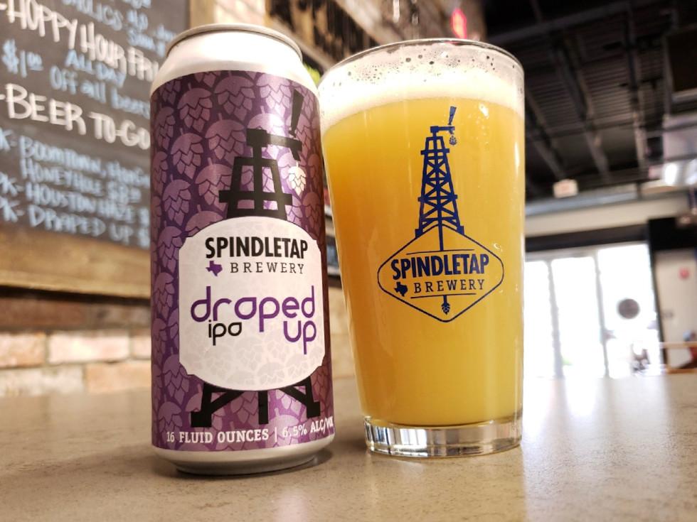 Spindletap Brewing Draped Up
