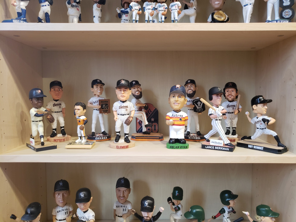 Houston Astros bobblehead collection bobblehead hall of fame museum