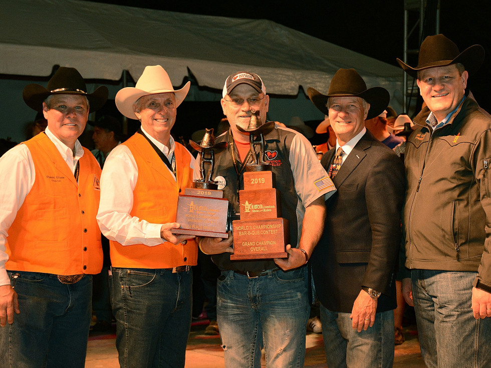 Houston Rodeo World Championship BBQ Contest 2019 winner Operation BBQ Relief