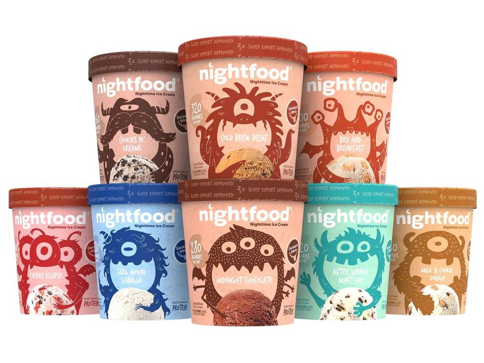 Ken Hoffman sleep aid ice cream Nightfood