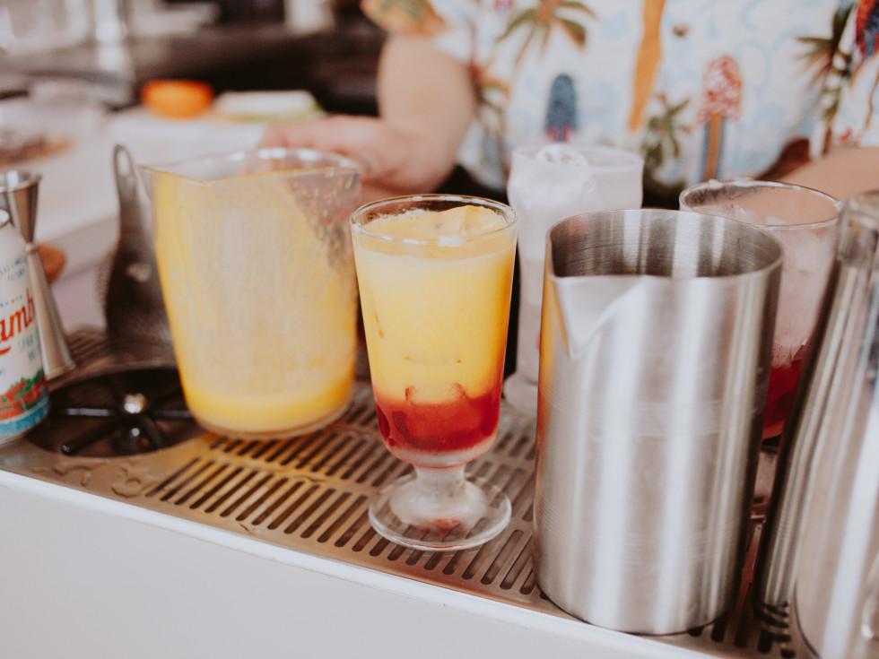 Uncle Nicky's Austin Garibaldi cocktail