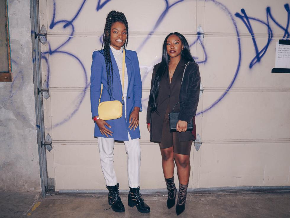 Diptych III Fashion Show at Austin School of Film Rae Davis Darian Younce