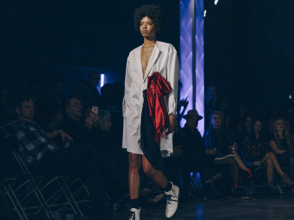 Diptych III Fashion Show at Austin School of Film Samantha Fabry