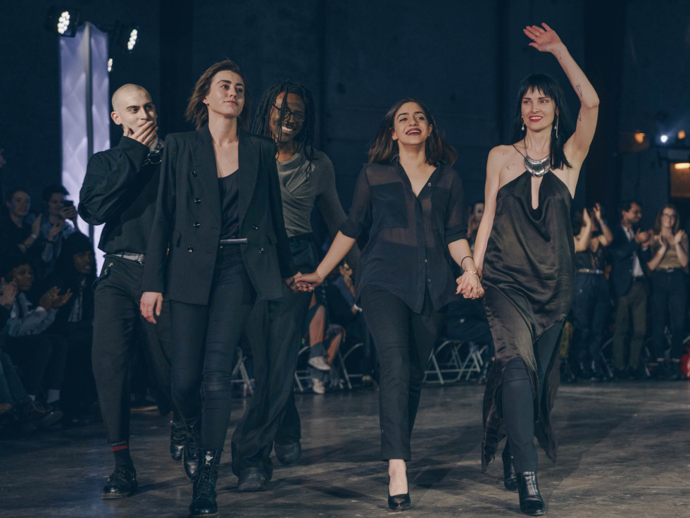Diptych III Fashion Show at Austin School of Film Melissa Taylor Samantha Fabry Ida Behjat