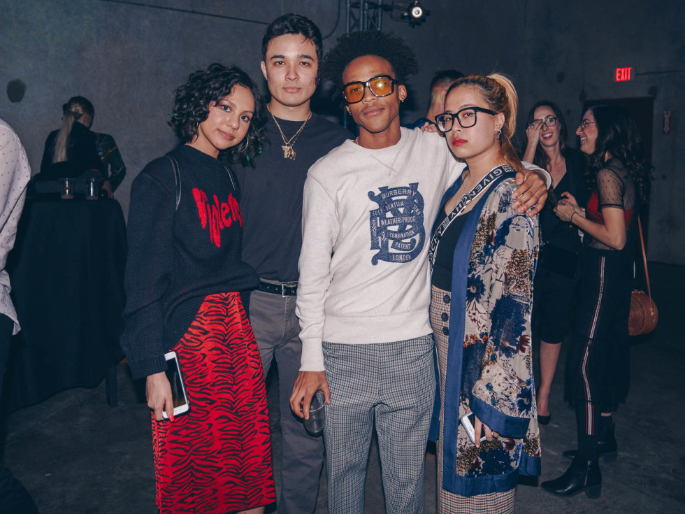 Diptych III Fashion Show at Austin School of Film Lauren Aguirre Raphael Vincent Wes Laurent Rebecca Wong