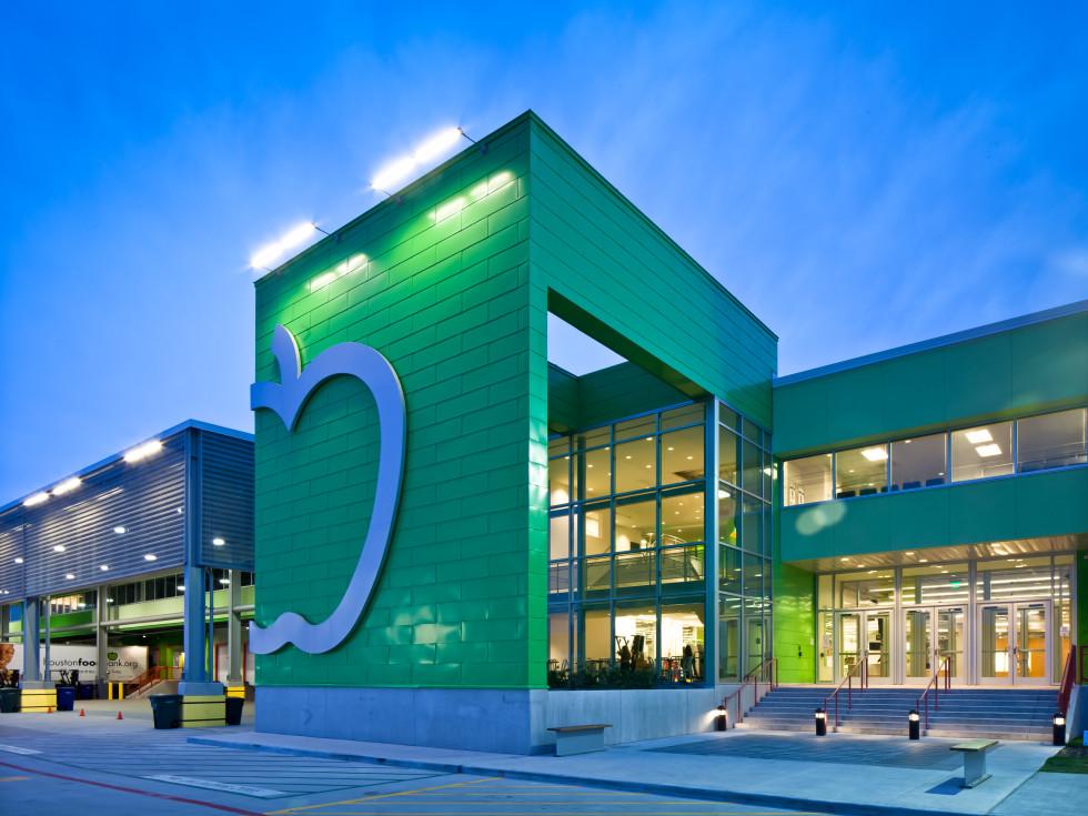 Houston Food Bank exterior