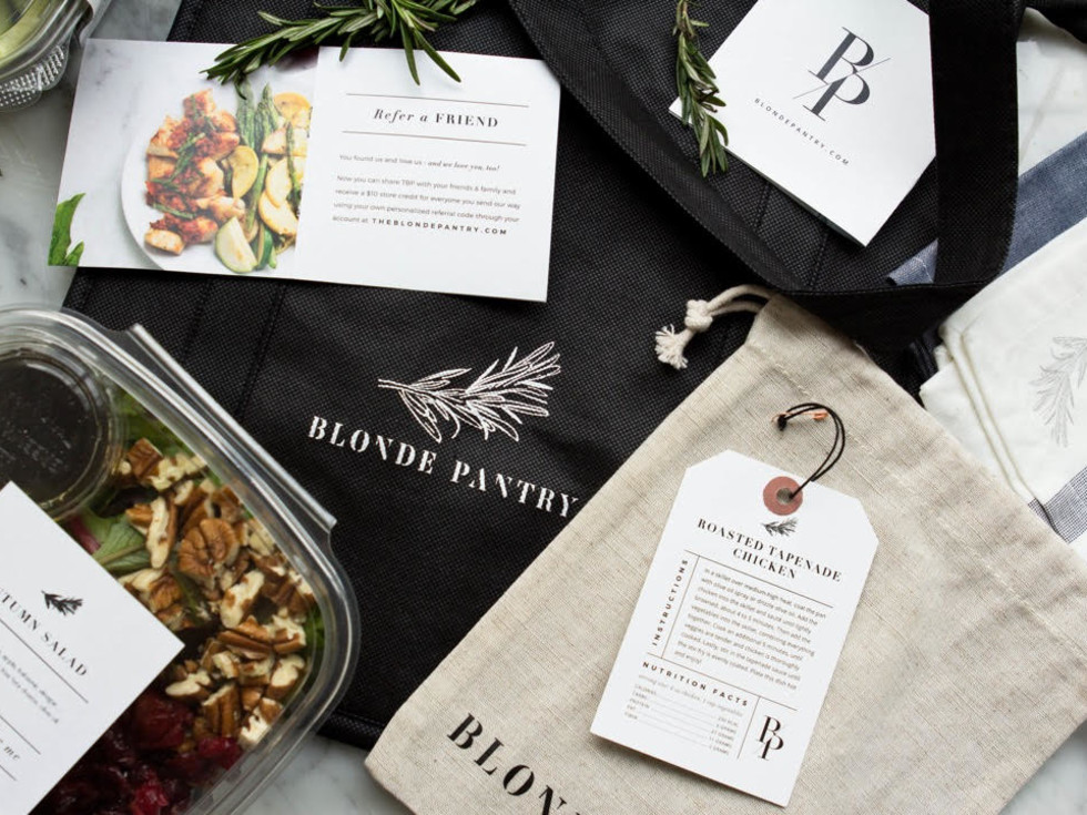 The Blonde Pantry pop-up