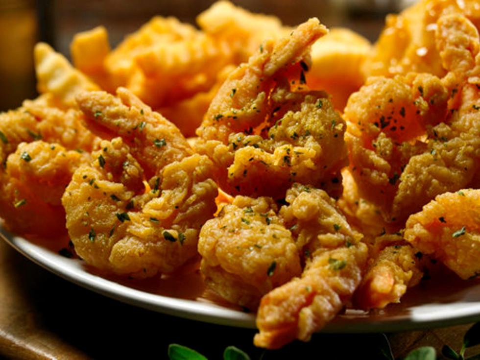 Drive-Thru Gourmet - Church's garlic shrimp