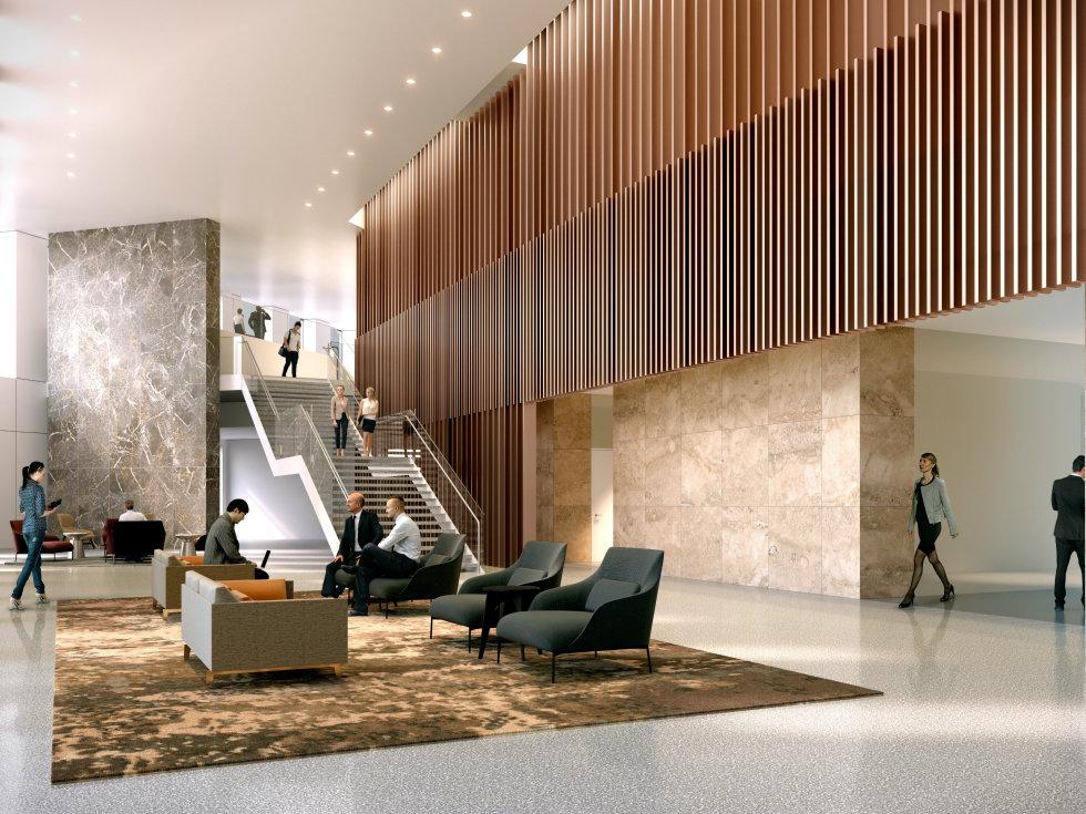 Two Allen Center Three Allen Center renovation