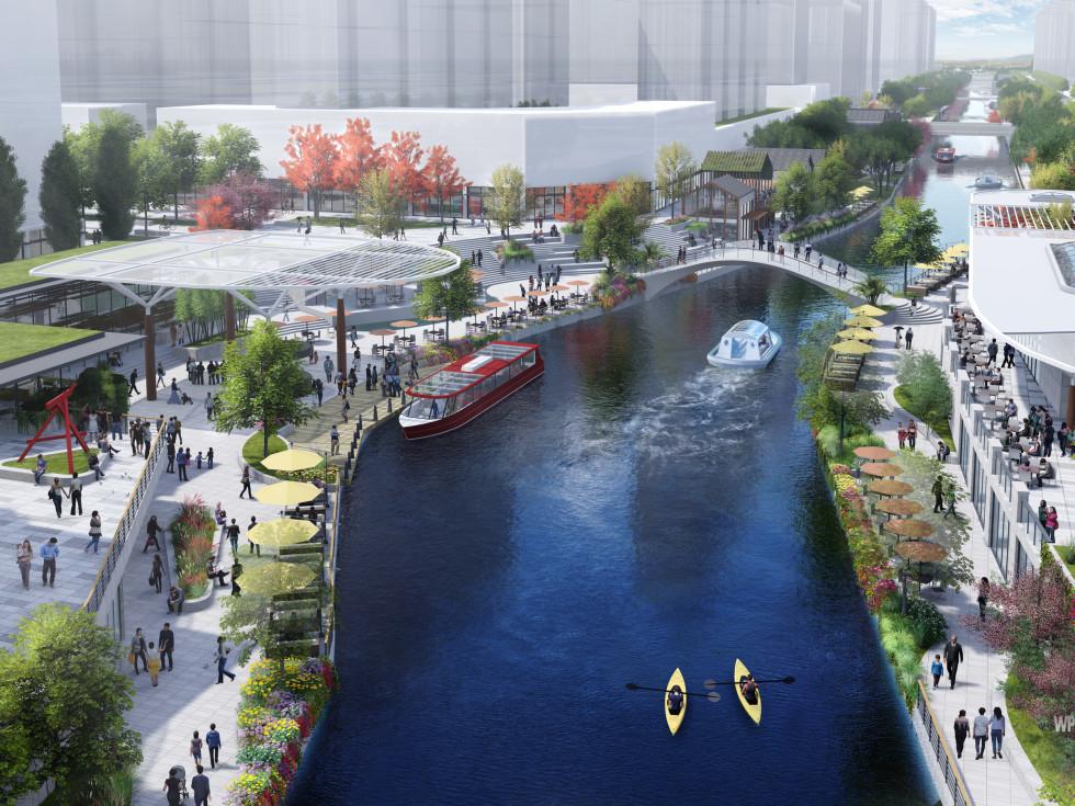 Overland Partners River Walk China