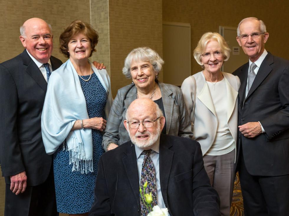 Jim Wiley, Karen Wiley, Don and Norma Stone, Diane Self, Sam Self