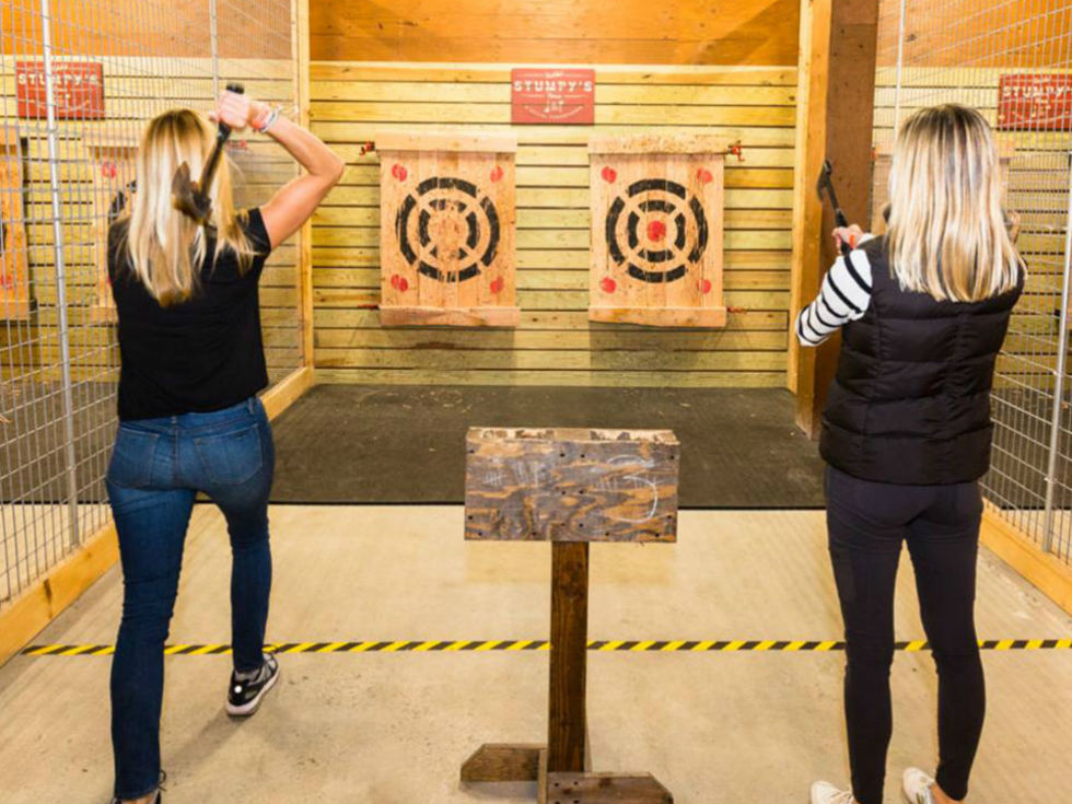 Ax Throwing: Fun Corporate Event Ideas