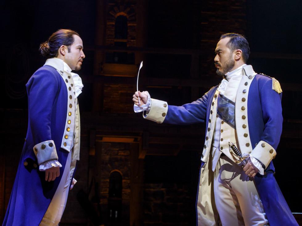 Joseph Morales and Marcus Choi in Hamilton
