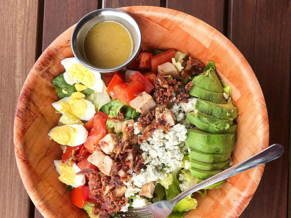 The Front Page Austin salad